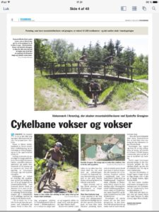 Artikel i lokale Folketidende 6. juni 2016